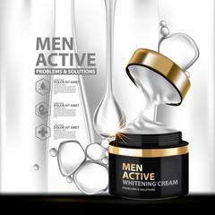 Facial Treatment Energy Essence Skin Care Cosmetic.