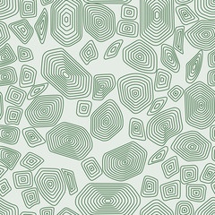 Turtle seamless pattern. Green tortoise. Terrapin camouflage wallpaper.