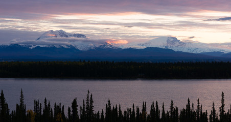 Mt Blackburn Willow Lake Wrangell-St Elias National Park