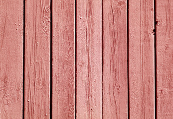 Red color wooden fence pattern.