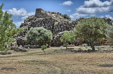 Nuraghe Arrubiu. Orroli, Sardegna