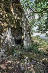 Domus de Janas. Orroli, Parco su Motti. Sardegna