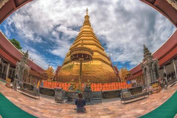 Wat Phra That Cho Hae, Phrae Thailand