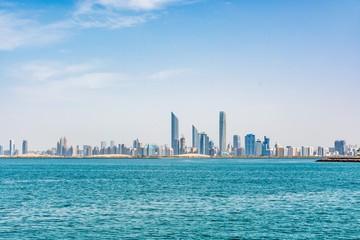 Cityscape of Abu Dhabi, United Arab Emirates
