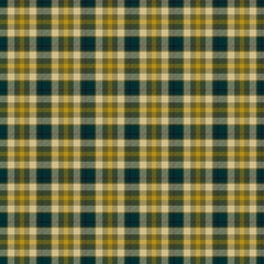 Green and yellow checkered tartan pattern background