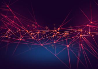 cloud storage security information, data deep learning hologram ai technology robotic, futuristic...