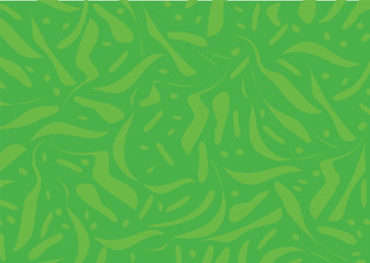 Abstract green background - Vector Illustration
