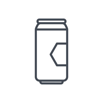 beer can beverage colored icon