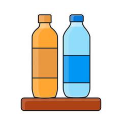 bottle line art