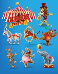 circus set icons