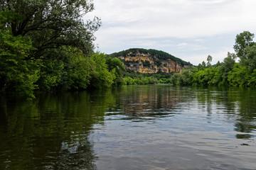 Paysage rivière Dordogne