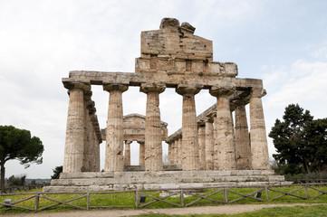Paestum: Athena Greek temple
