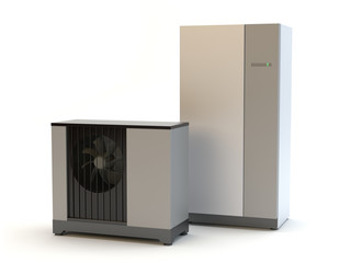 Air heat pump system