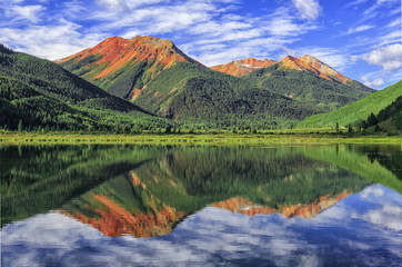 Crystal Lake, San Juan Mountains, Colorado