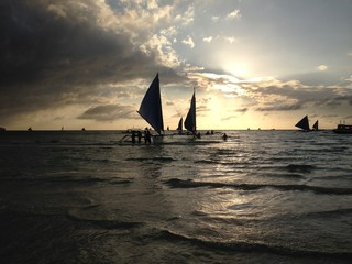 One last evening in Boracay.