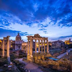Wall Mural - Forum Romanum in Rom, Italien