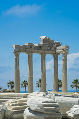 tample of Apollon in Side