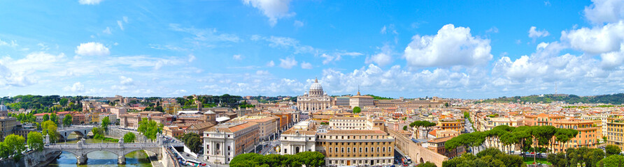 Canvas Prints Rome Roma - panoramica