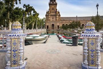Plaza de España - Spain's Square in Seville, Spain