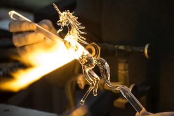 Glass Unicorn.
