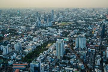 Views of Bangkok in Baiyoke Sky Hotel