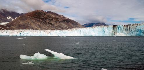 Glacial Flow Kenai Fjords Alaska Harding Ice Field Aialik Glacier