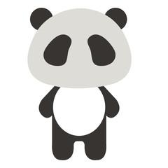 Stuffed animal panda icon vector illustration design graphic
