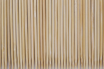 A close-up shot of toothpicks texture.