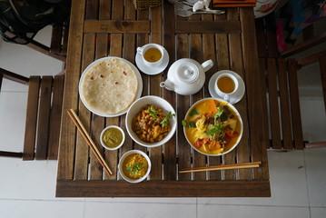 Vegan Lunch in Hoi An, Vietnam