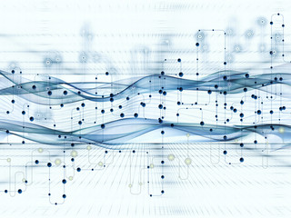 Visualization of Digital Data Transfers