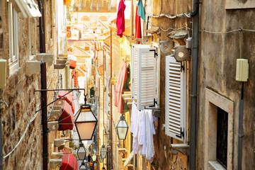 Wall Mural - Old street in Dubrovnik