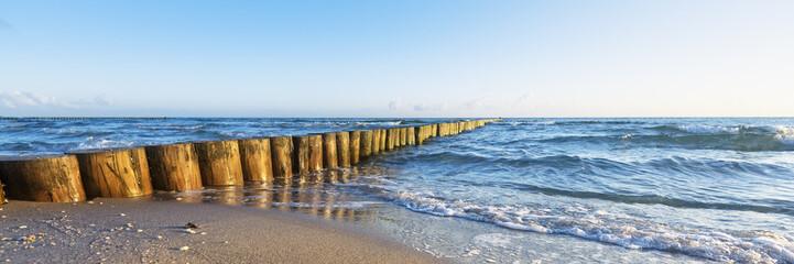 Wall Mural - Urlaub am Meer - deutsche Ostseeküste - Banner