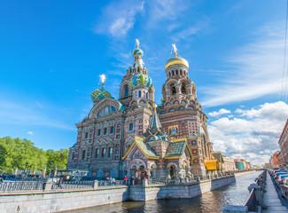 Auferstehungskirche / Blutkirche (Собор Воскресения Христова) Sankt Petersburg (Санкт-Петербург) Nordwestrussland (Северо-западный федеральный округ) Russland (Россия)