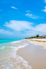 Wall Mural - Sunny summer day at Varadero beach in Cuba