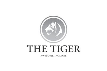The Tiger Logo Illustration Design