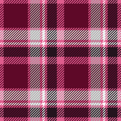 Tartan seamless pattern. Plaid texture vector.