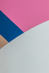 Abstract white, blue, pink and brown background