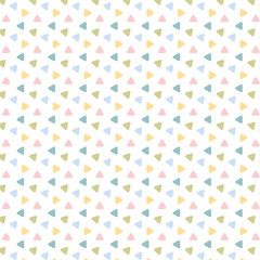 Pattern Dreiecke modern
