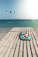 Kite- and Windsurf-Action - Fuerteventura