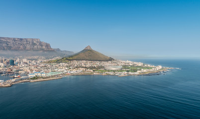 Cape Town, South Africa (aerial view)