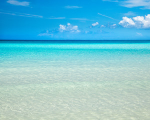 Seascape in the Bahamas