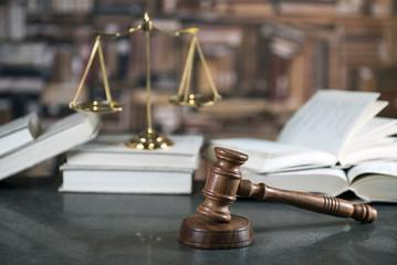 Lawyer's desk