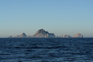 The Southeast Farallon islands 30 miles west of San Francisco. A Federal Wildlife Refuge home to a large bird population, seals, and sea lions.