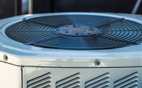 Top view of AC unit