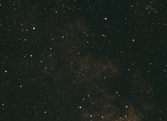 Stars in the sky.Photo with endurance.