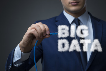 Big Data concept in IT technology