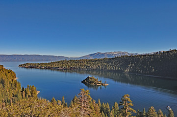 Lake Tahoe and the Blue Sky