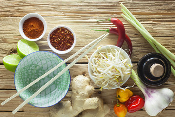 Asian Cuisine - Ingredients