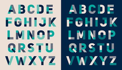 Alphabet design template