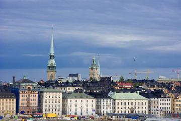 Wolkenstimmung in Stockholm